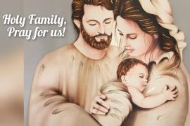 Thánh gia, một gia đình gương mẫu.